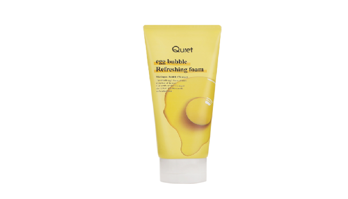 Quret Egg Bubble Refreshing Foam