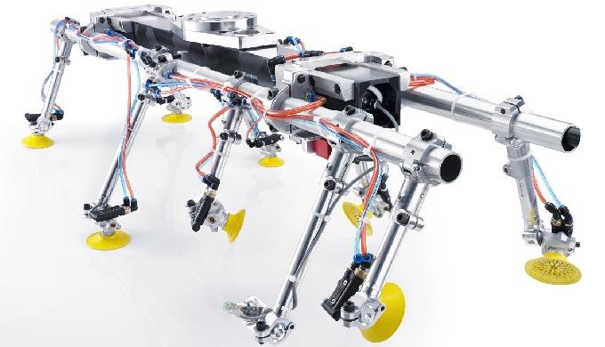 Productos varios Bilsing AUTOMATION - Ejemplo garra para estampación