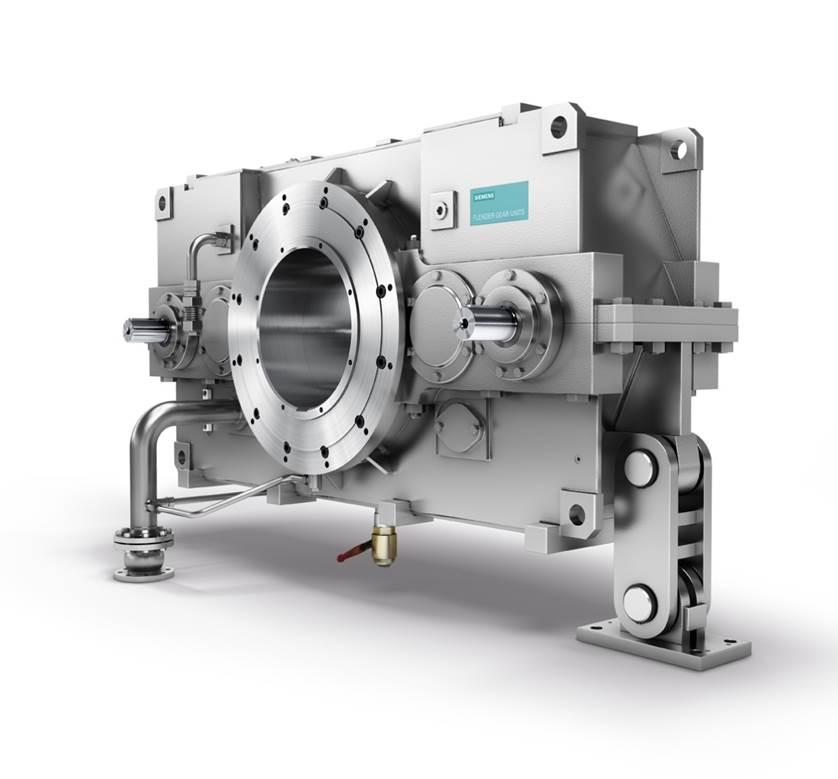 Flachgetriebe / für Glättzylinder / für die Papierindustrie / 3-stufig