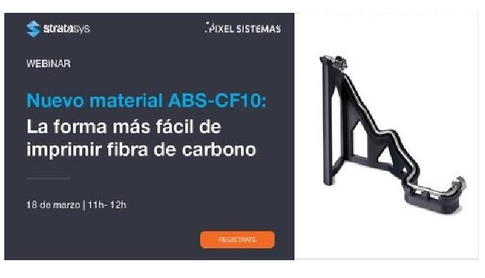 WEBINAR: PRESENTACIÓN NUEVO MATERIAL ABS CF10