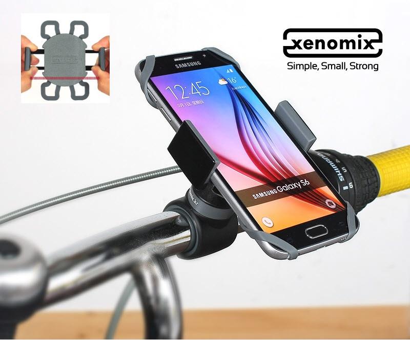 # Bike mount holder SHG-BH2000 - Full customization - 360-degree ball head swivel - Extendable clamp...