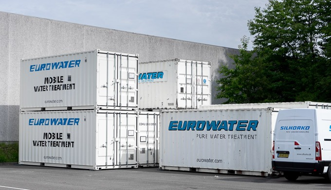 Silhorko-Eurowater, Rental of water treatment plants