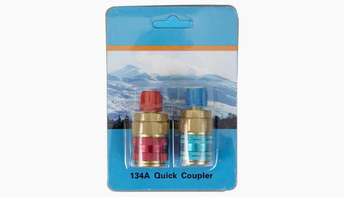 A/C R134a Quick Couplers Specification: Condition: 100% Brand New and high quality Color: Red,blue.R...