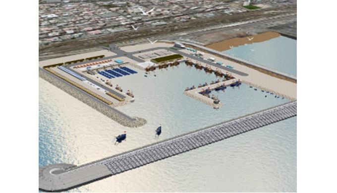 Port de pêche à Casablanca