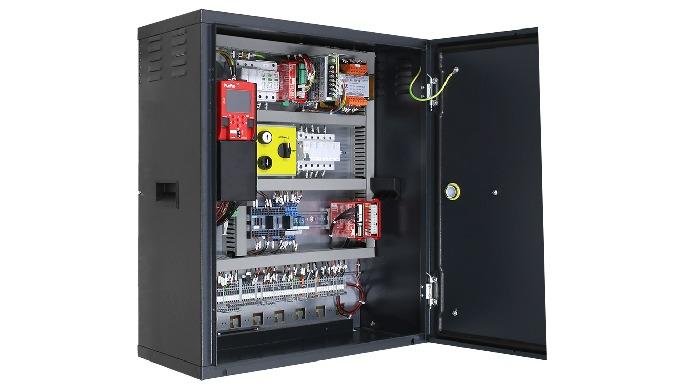 PITAGORA 4.0 è un sistema elettrico precablato per ascensori, concepito per l'Europa, nativamente co...