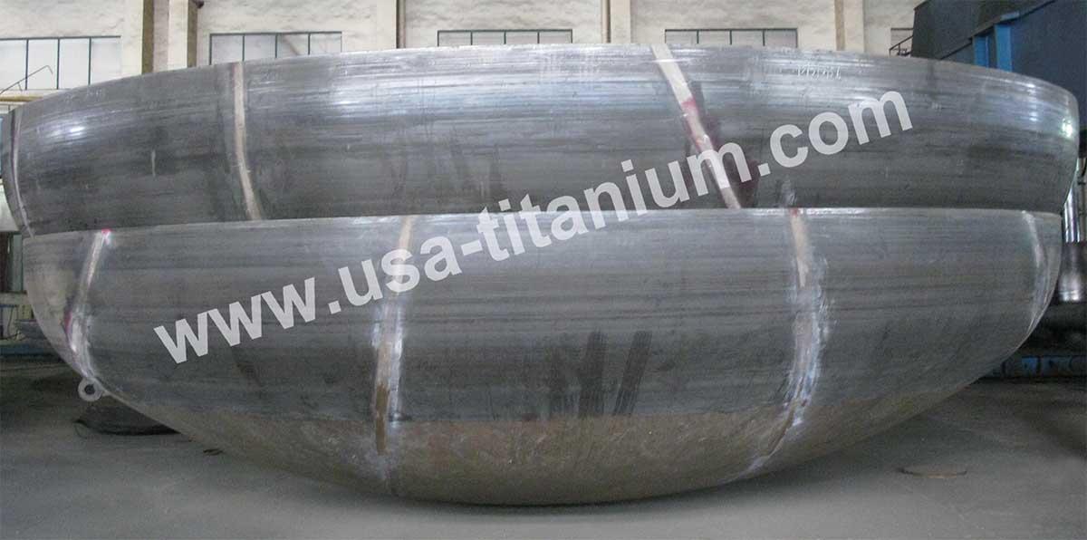 USTi Titanium Elliptical Head / Spherical Head