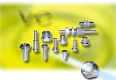 VC-šroubení s kovovou těsnící plochouSchwer Fittings nabízí pod skupinou produktů ,, VC-šroubení