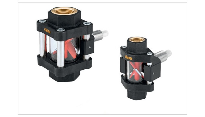 Elesa Visual Flow Indicators - now with Flow Meter sensor