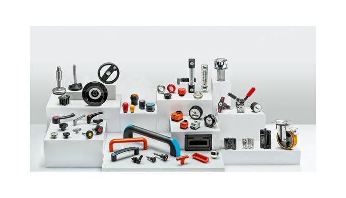 Elesa standard elements for packaging machines at the 2021 PPMA Show – Stand No. E01
