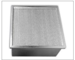 Filtrační kazety, rámečkové filtry i pro vysoké teploty Filtrační kazety vhodné pro teploty do 385°C...