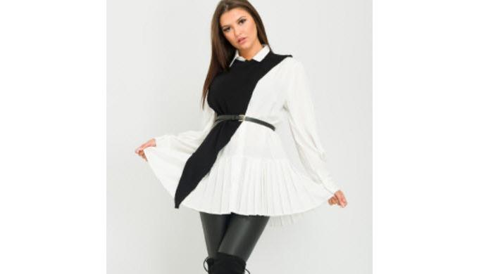 Tops/Blouses Dresses Bodysuits Leggings Playsuits/Jumpsuits Knitwear Shorts Trousers Jeans Denim Coa...
