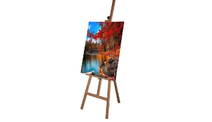 Chevalet pour peinture. Pour dessiner ou peindre, il est crucial d'être confortablement installé et ...