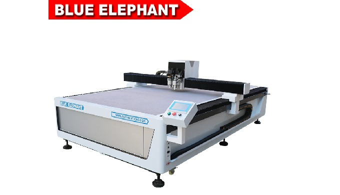 1625 cnc router machine with vibrating knife for paperboard processing