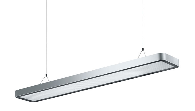 Illuminazione LED per gli ufficiScocca protetta da coverTencologia antiabbagliamento con diffusore A...