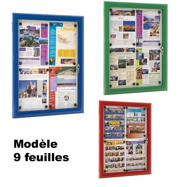 Pour valoriser toutes vos informations, affiches, notes de service, consignes, postersPour l'extérie...