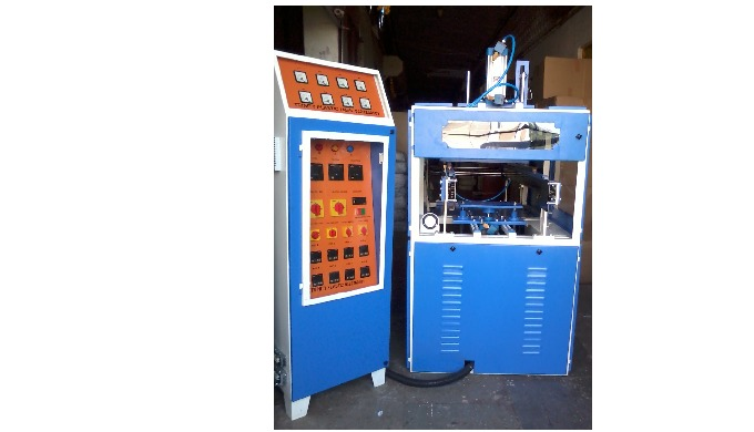 You can manufacture any kids of Blister Packaging - Vacuum formed in this Machine