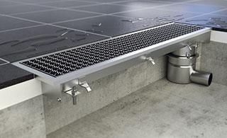 Onze inox afvoergoten bieden een uitstekende oplossing voor al uw oppervlakteafwateringsproblemen in...