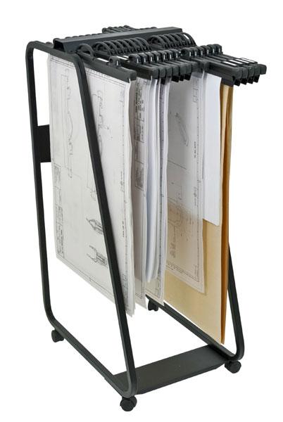 Pour classement suspendu des barettes relieurs Quick-File Hang-A-PlanIdéal pour plans, cartes géogra...