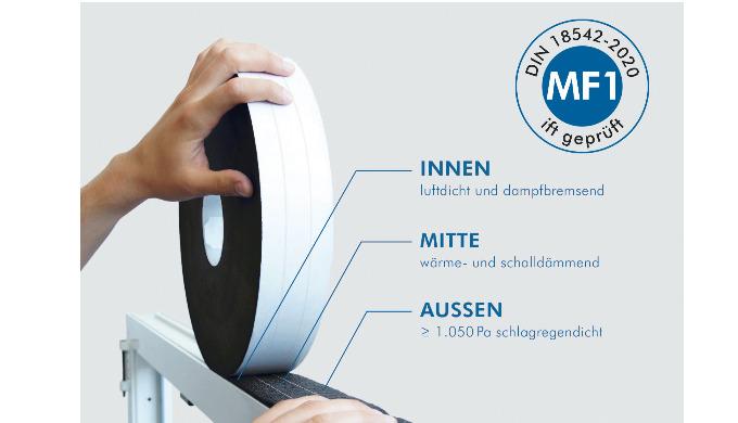 MULTIFUNKTIONSBAND ISO-BLOCO HYBRATEC MF1-GEPRÜFT NACH NEUER DIN 18542:2020