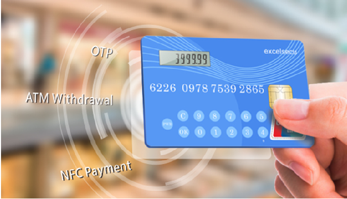 Functions Bank Card Function Designed for both ATM withdrawal and swiping Dynamic Token Function By ...