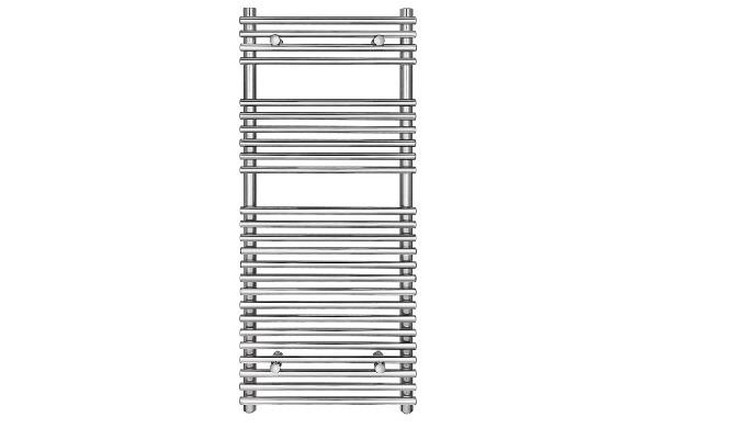 AF-UA-Chrome1200X500 Towel rail