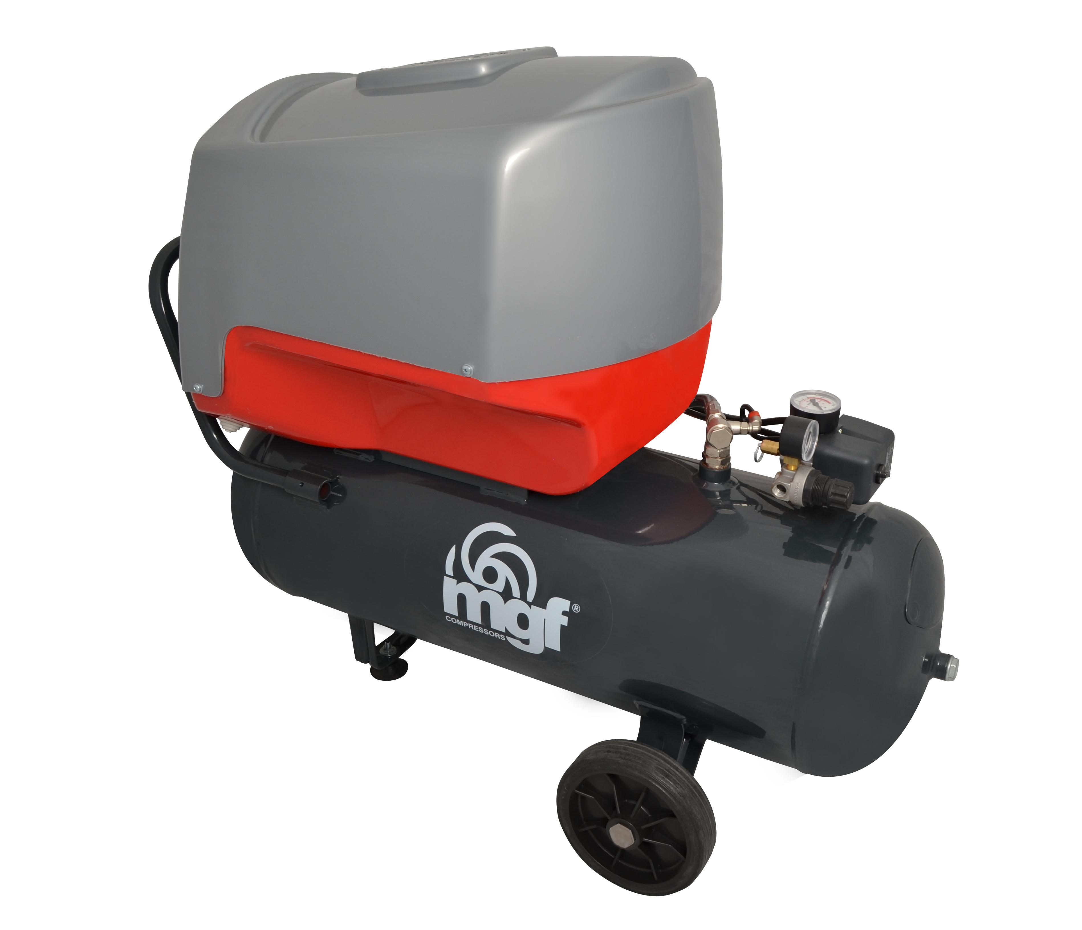 Bezolejové kompresory Profesional jsou tím nejlepším řešením pro profesionální využití při potřebě b...