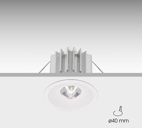Luminaria formada por tres módulos independientes: conjunto óptico, sistema electrónico y baterías. ...