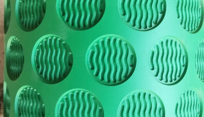 BISCUIT DIE MOULD ENGRAVING TYPE WITH TEFLON COATING