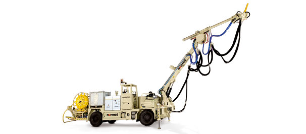 Normet's concrete sprayers are high quality vehicles with high resale prices and low maintenance cos...