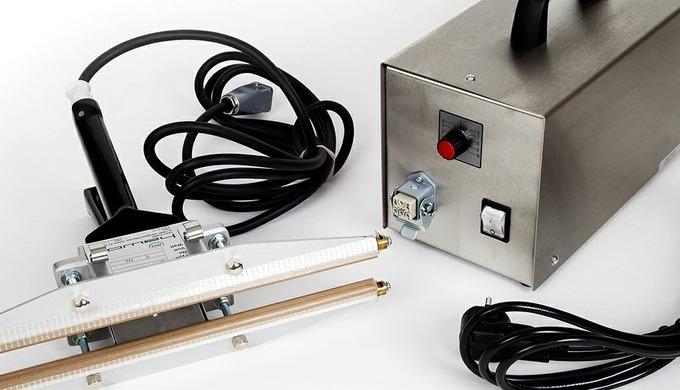 HAWO HPL ISZ Импульсный тепловой герметик 300mm, 450mm & 630mm Этот ручной импульсный термосварщик и...