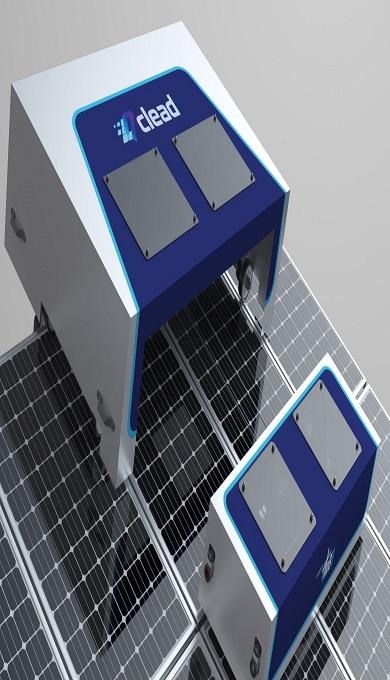 3_Robot de nettoyage de panneaux solaires [Clead T-4000]