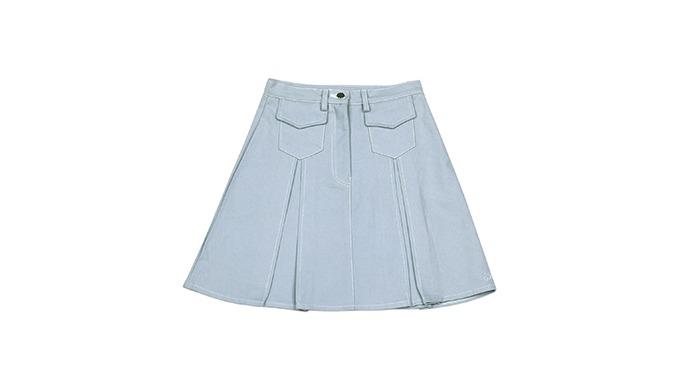 Macaron Pleated Skirt