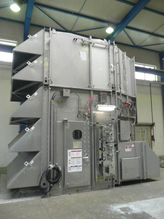 Výroba filtračních jednotek a rozvodů vzduchu pro generátory a plynové turbíny