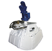 Product Feature _A substantial mechanical structure. _Two cylinder type _Hydraulic 360 rotating syst...