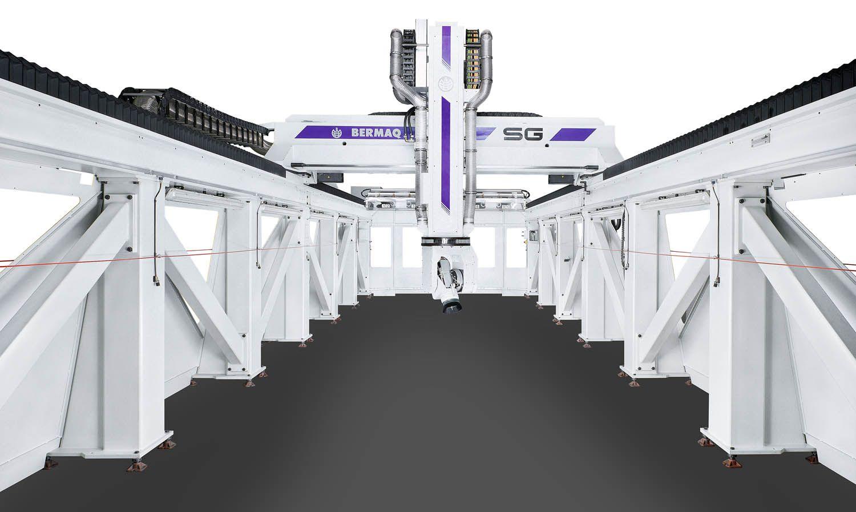 Centro de mecanizado especialmente diseñado para mecanizar a alta velocidad materiales blandos como ...