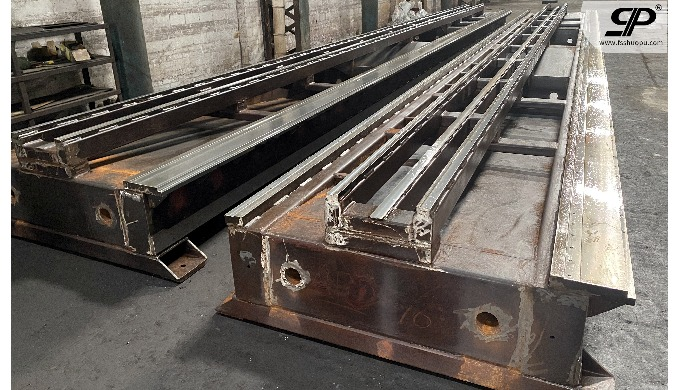 OEM Mechanical guide rail metal machining steel plate: thickness is not limited -- no matter how thi...