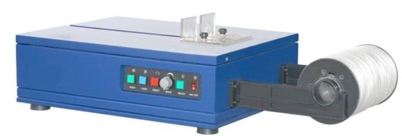 halbautomatische Tischumreifungsmaschine Bandbreite 6mm Im Lieferumfang erhalten Sie eine Rolle Umre...