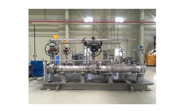 It is a facility that supplies LNG to Fuel Storage Tank of engines and generators for LNG fuel lines...