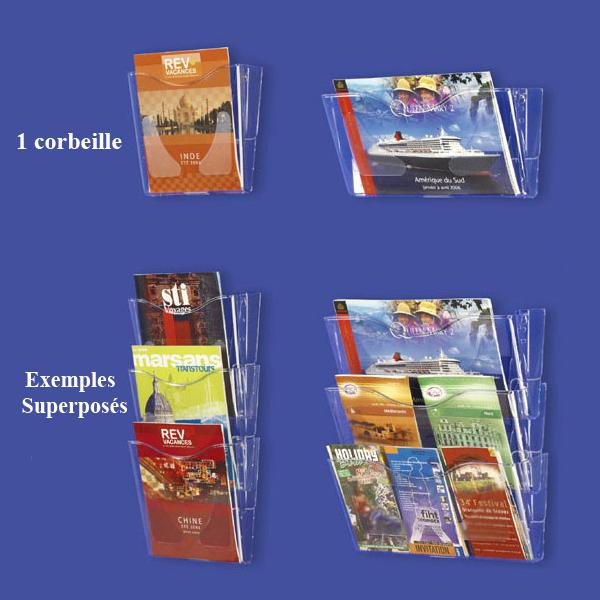 Multipliez les possibilités d'agencement des brochuresUtilisation individuelle ou juxtaposition et/o...