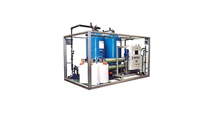 Unités industrielles de traitement des eaux & des effluents