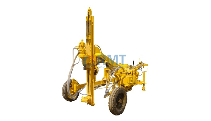 The DTH Hammer version of RMT Wagon Drill is equipped with powerful piston type air motor (BBR -4 ty...
