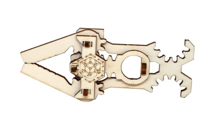 Un jeu malin en bois , CARDKIT Mini kit pince articulée, à monter sans colle. Découpée avec le plus ...