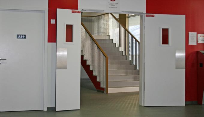 1 vantail pour porte largeur 930 avec ferme-porte 2 vantaux jonction EFDL joint lèvre pour porte lar...