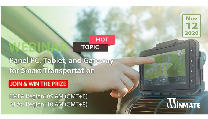 [HOT TOPIC] Panel PC, Tablet, and Gateway for Smart Transportation