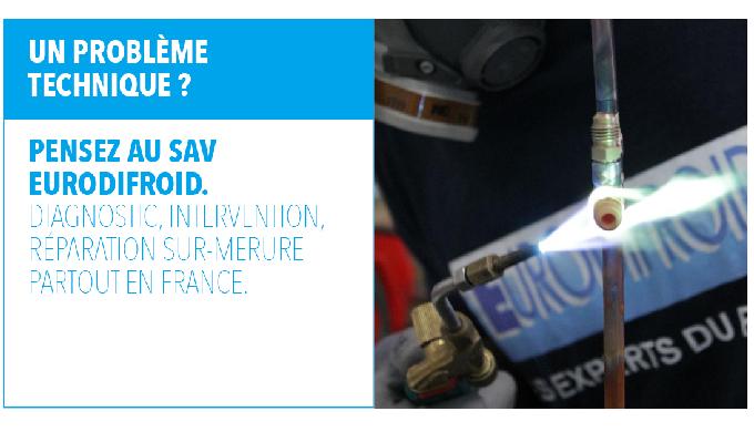 Notre SAV : La qualité Eurodifroid partout en France