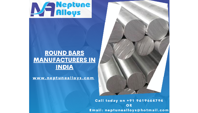 Neptune Alloys is a High Quality Round Bar Manufacturer in India. We are a leading manufacturer of R...