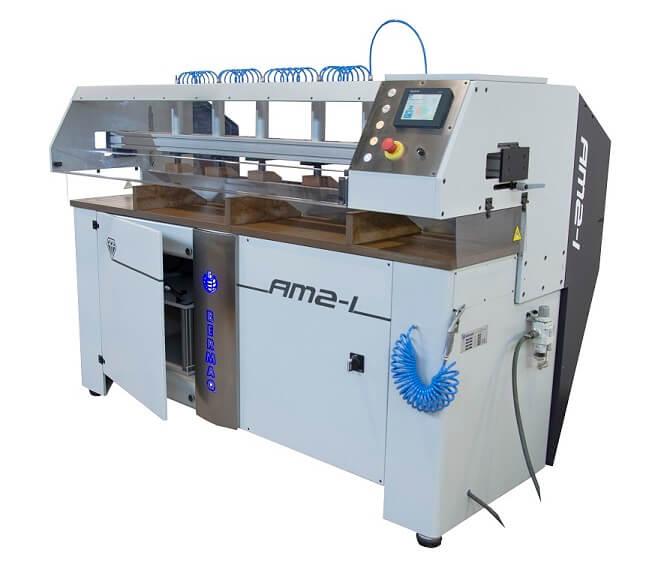 Máquina para el mecanizado transparente, pulido y abrillantado de piezas de acrílico y metacrilato (...