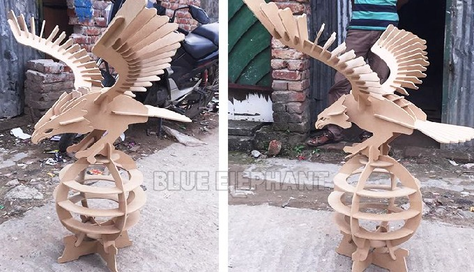 4*8 CNC Wood Machine with Rotary Device