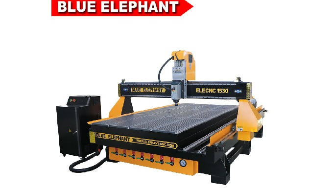 Blue Elephant 1530 4 axis woodworking milling machinery for wood kitchen cabinet door