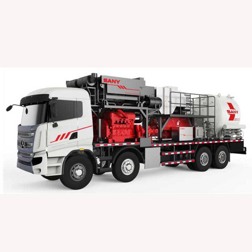 SYN5310TDB SYN Series liquid nitrogen pump truck SANY SYN5310TDB Fracturing Equipment Large displace...